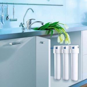 Многоступенчатые питьевые фильтры под мойку.