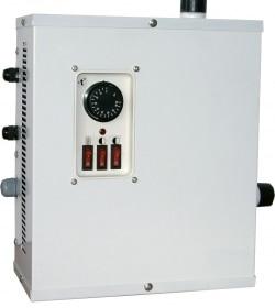 САНГАЙ ЭВПМ-3 Электроводонагреватель (тэн нерж) редназначен для нагрева теплоносителя в составе автономных систем водяного отопления жилых, производственных и служебных помещений с принудительной (насосной) циркуляцией теплоносителя, при давлении не более 0,25 МПа и температуре нагрева воды до 85°С. Водонагреватели могут использоваться автономно или совместно с отопительными котлами, работающими на других видах топлива. Рабочий диапазон температур окружающей среды от +1°С до +40°С. Комплектация: Электроводонагреватель (Электрокотел) ЭВПМ-3, шт. 1 Паспорт, шт. 1 Упаковка (коробка из гофрокартона, пластиковый пакет), шт. 1 Габаритные размеры упаковки электрокотла ЭВПМ-3, мм - длина 340 - ширина 180 - высота 410 Масса электрокотла ЭВПМ-3 в упаковке, кг 6,6 Объем упакованного электротла ЭВПМ-3, куб.м 0,0251 Технические характеристики ЗАО Урал-Микма-Терм САНГАЙ ЭВПМ-3: Напряжение сети, В 220 Габаритные размеры, мм 325х168х395 Вес, кг 6.2 Потребляемая мощность, кВт 3 Число контуров одноконтурный С данным товаром часто смотрят: