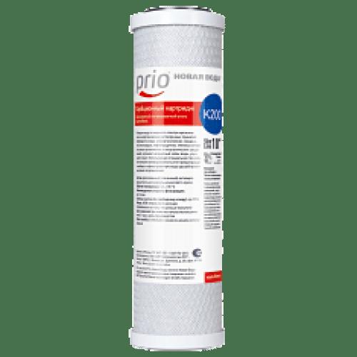 """Slim Line 10"""" Carbon block Сорбционный картридж из прессованного активированного угля Очищает воду от широкого спектра органических и неорганических растворенных примесей (свободного хлора, хлорорганических соединений, пестицидов, нефтепродуктов, тяжелых металлов, иных органических и неорганических соединений), устраняет неприятный запах воды, улучшает ее вкус. Используемая специальная технология спекания активированного угля предотвращает выброс в отфильтрованную воду адсорбированных ранее загрязнителей. Содержит гранулированный активированный уголь, полученный из скорлупы кокосовых орехов."""