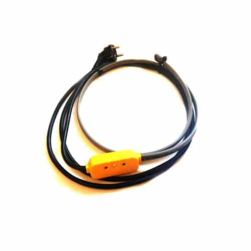 Комплект д/обогрева трубопровода 5м 80Вт экранированный 45