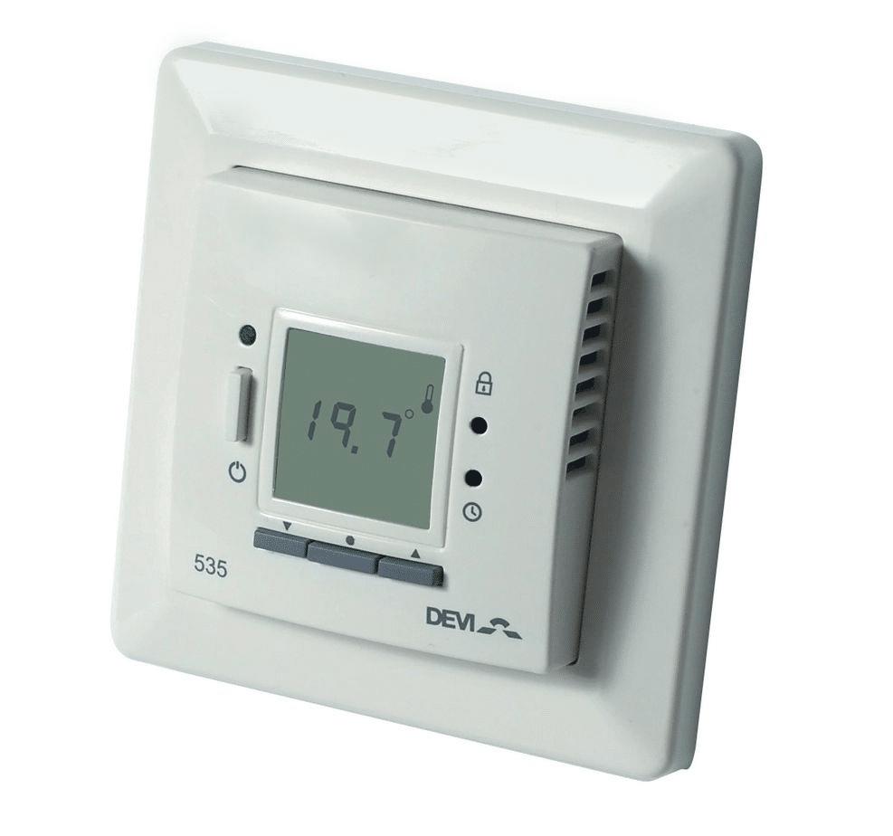 Терморегулятор Д-535 с датчиком пола