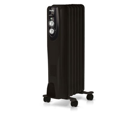 Радиатор масляный BALLU BOH/CL-07BRN 1500 Classik черный 2