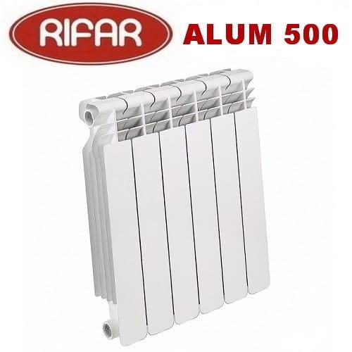 Радиатор алюминиевый RIFAR  Alum 500  секция 1