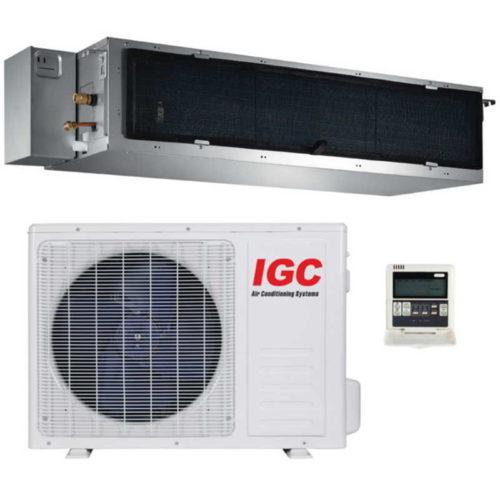 Канальная сплит-система IGC IDM-18HM-U 1 Коттедж