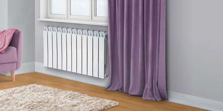 Биметаллические радиаторы - интерьер