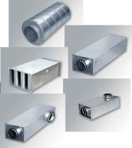 Шумоглушители для вентиляции